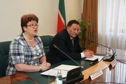 Визит делегации Новосибирска