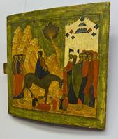 Вход Господень в Иерусалим. XVI век