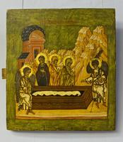 Жены Мироносицы у гроба Господня. XVI век