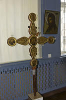 Крест двусторонний выносной. XVI-XVII века