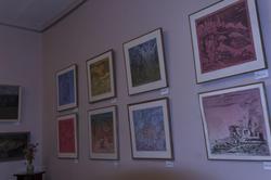 Фрагмент экспозиции выставки Туманова А.Р.