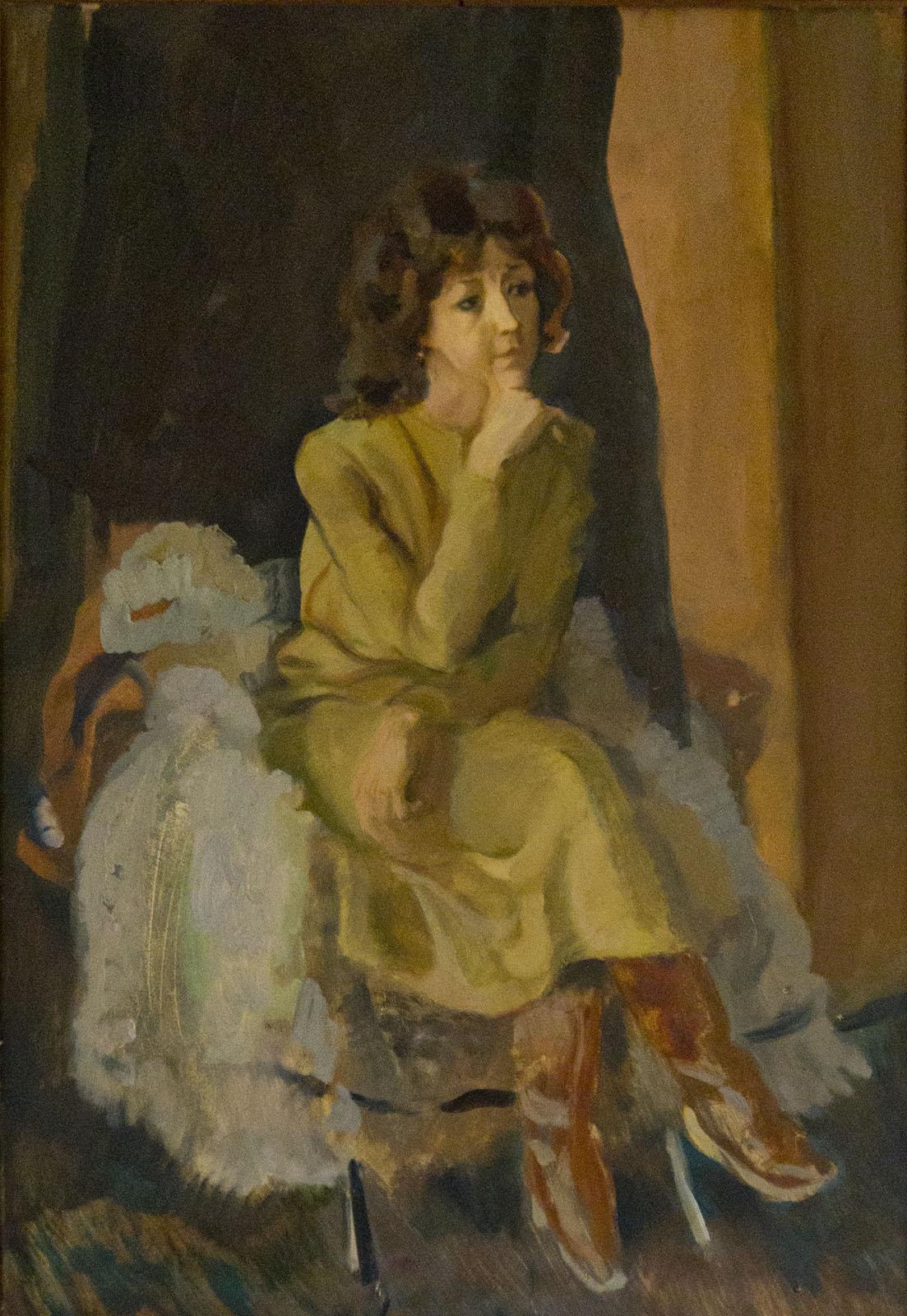 Фото №79809. Женщина в коричневых сапожках. Туманов А.Р.