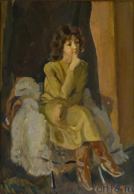 Женщина в коричневых сапожках. Туманов А.Р.