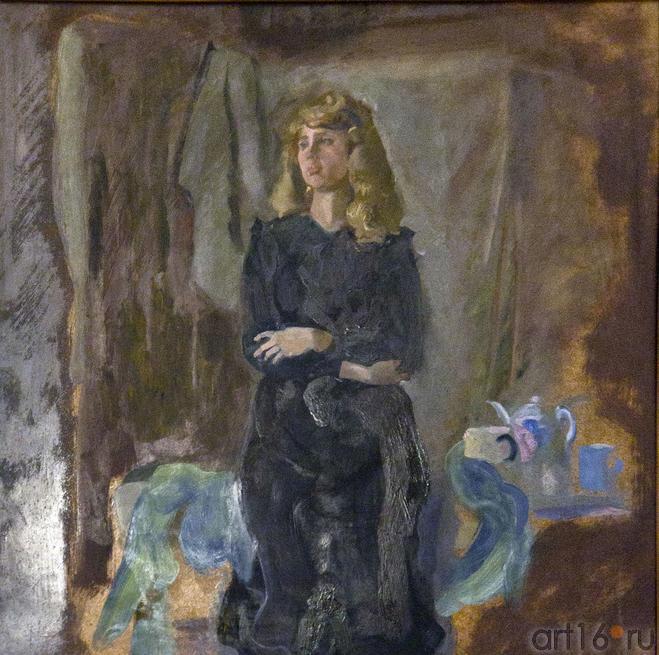 Женщина с чайником. Туманов А.Р.::«Жизнь в искусстве». Александр Рамазанович Туманов