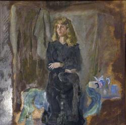 Женщина с чайником. Туманов А.Р.