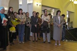 Открытие выставки ''Москва и москвичи''