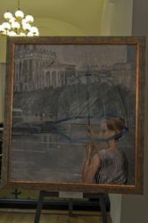 Прозрачный зонтик. 1973. Пименов Ю.И. (1903-1977)