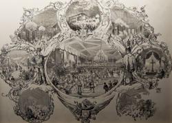 Зичи М.А (1829-1906). Торжества по случаю коронации Императора Александра II