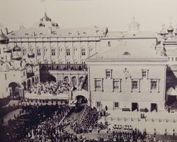 Торжественный вход в Успенский собор Московского Кремля