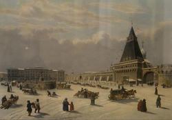 Бишбуа Л.П.А.(1801-1850), Дитц С.Ф. (1803-1873). Лубянская площадь