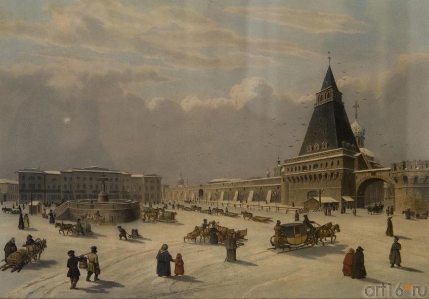 Фото №79999. Бишбуа Л.П.А.(1801-1850), Дитц С.Ф. (1803-1873). Лубянская площадь
