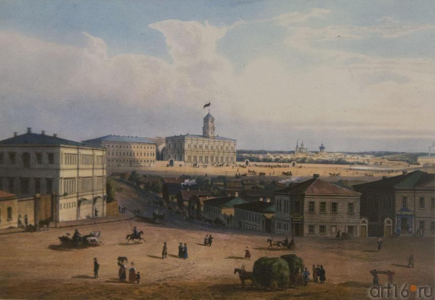 Фото №80004. Жакотте Ж.(1806-?), Обрен (гравер сер. XIX века). Станция железной дороги