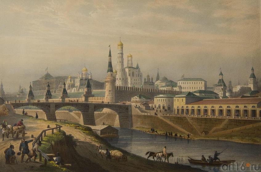 Фото №80014. Бишбуа Л.П.А.(1801-1850), Лемерсье Ж.Р.(1803-1887). Общий вид кремля