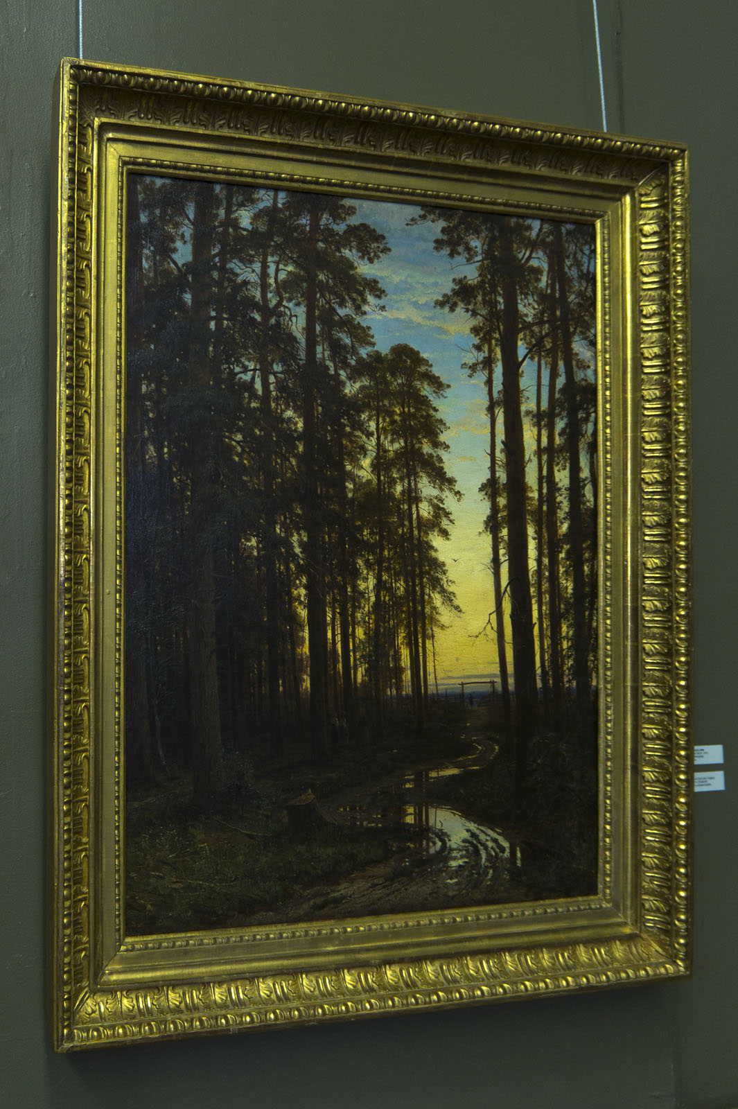 Фото №80183. Вечер в сосновом лесу. 1875. Шишкин И.И. (1832-1898)