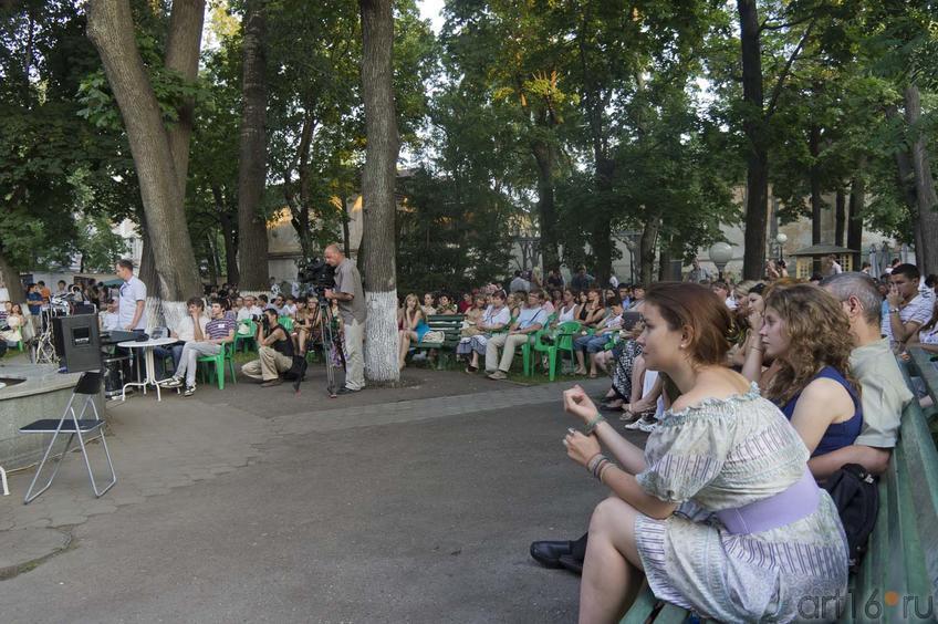 """Фото №80324. На открытии фестиваоя """"JAZZ в усадьбе Сандецкого"""", 7 июля 2011"""