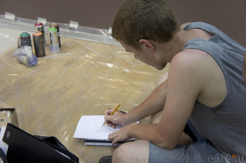 Дмитрий Lil-D Кудинов::Граффити. Арт-акция «MANEGE Art MAUER» — 2011