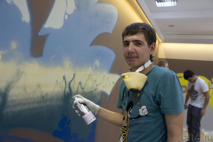 Игорь IGOU Афанасьев::Граффити. Арт-акция «MANEGE Art MAUER» — 2011