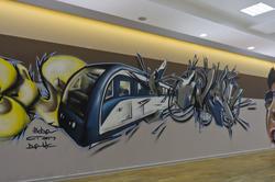 Граффити Дамира Dax и Вовы Step