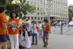 Участники летней киношколы в Казани, июль 2011