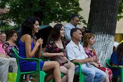 На выступлении Tecory Rogers  в парке Усадьбы Сандецкого