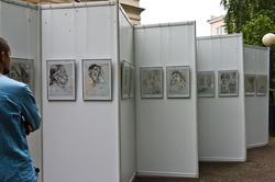 Выставка графических работ Н.И.Фешина