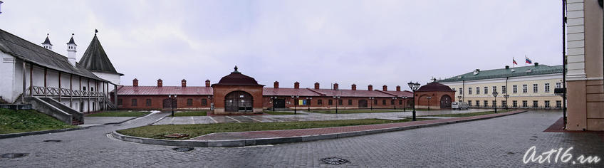 Пушечный двор Казанского Кремля::Служебный