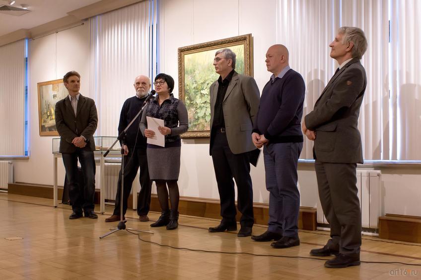 Фото №813040. Открытие выставки. Новиков А.В.