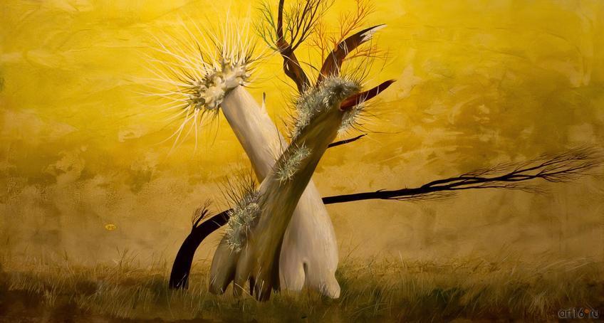 Фото №813064. Обнаженное дерево. 1999. Новиков А.В.