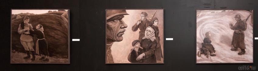 Фото №814150. Триптих «Дети войны», 2015, Сиразиев И.И.