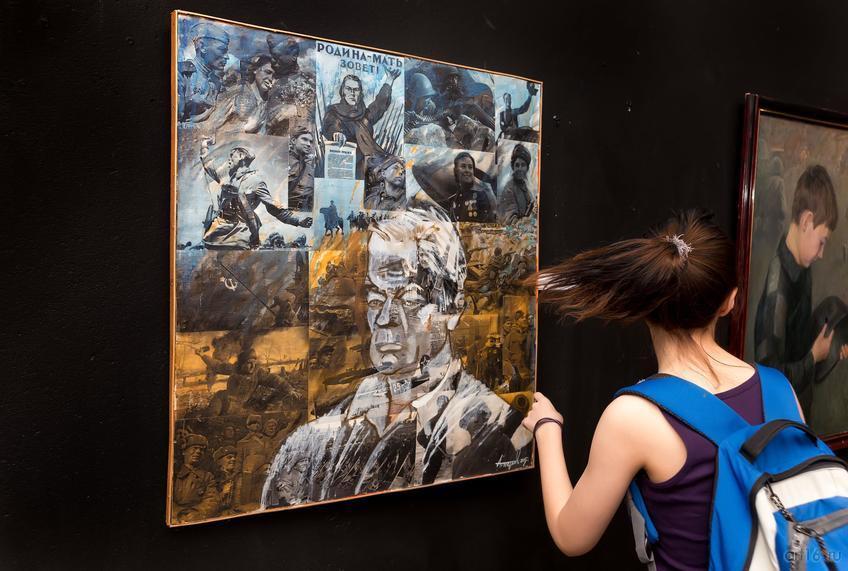 Фото №814223. Портрет ветерана (Отец художника), 2015, Петров А.А. (Наб. Челны)