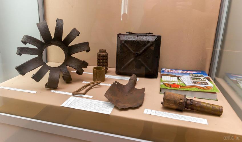 Фото №814433. Артефакты военных лет с раскопок ПО