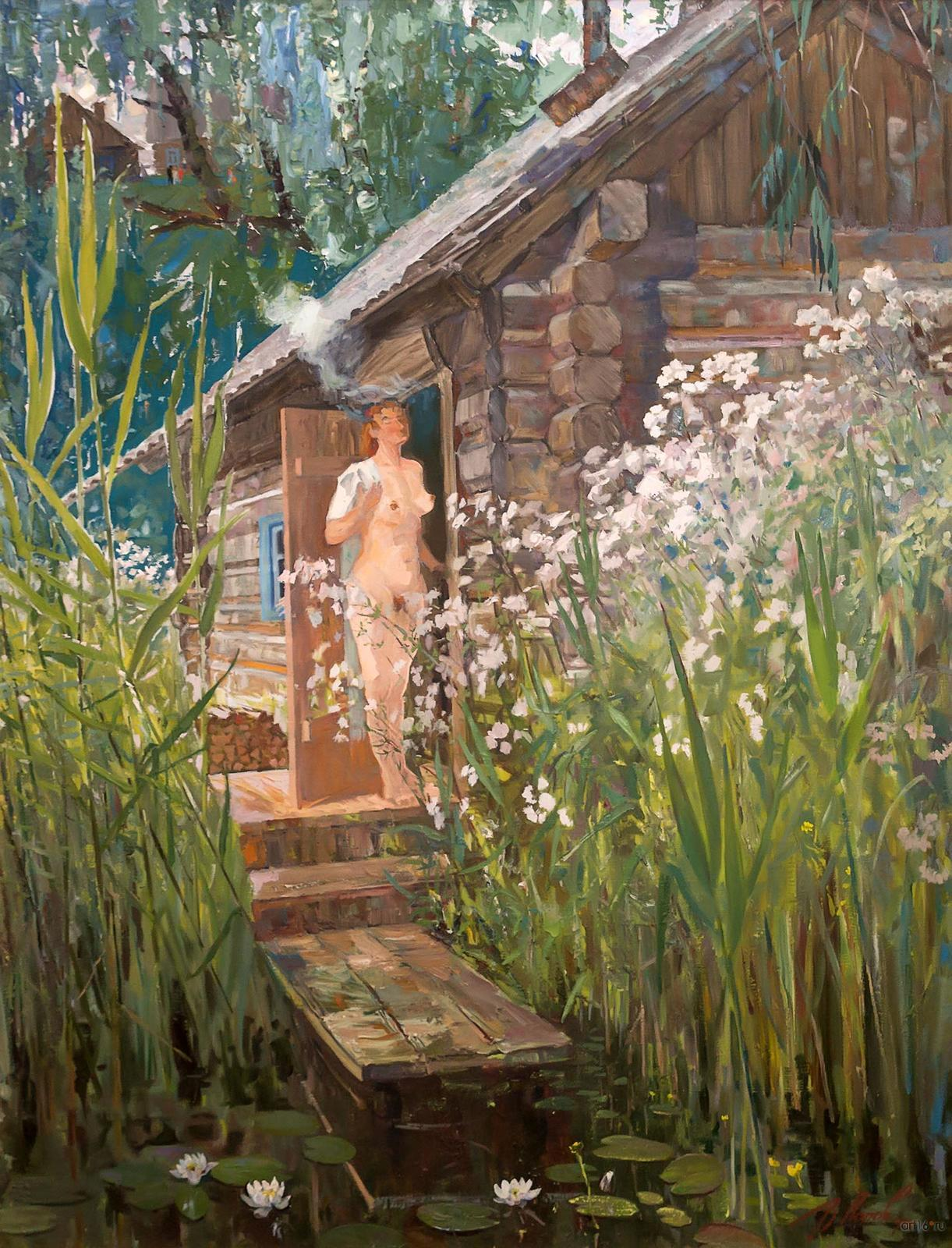 Фото №814541. Банька. 1988-1990. Попов В.А.