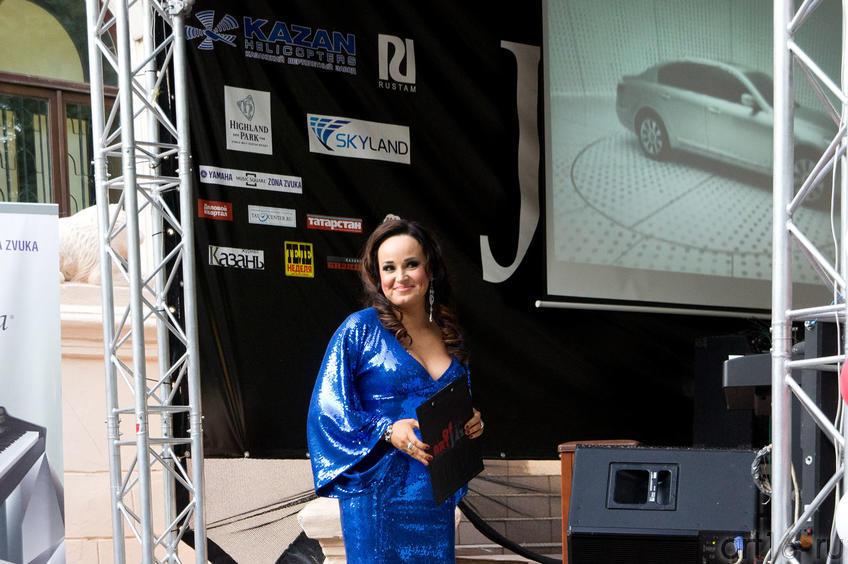 Ольга Скепнер, организатор фестиваля, ведущая джазовой  программы
