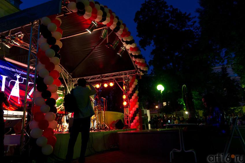 На джазовом вечере в Усадьбе Сандецкого. 4 августа 2011