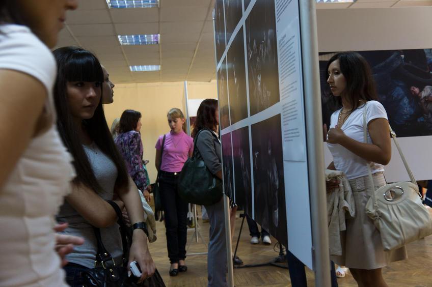 """Фото №81794. Выставка  """" World Press Photo - 2011"""" в Казани"""