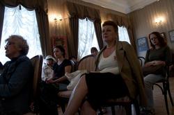 На просмотре фильма о Веронике Тушновой