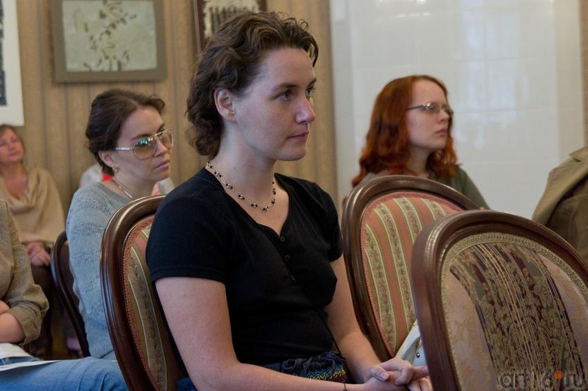 Фото №81928. Влада Семенова (на переднем плане),  на заднем плане: Юлия Сандлер, Наталья Иванова