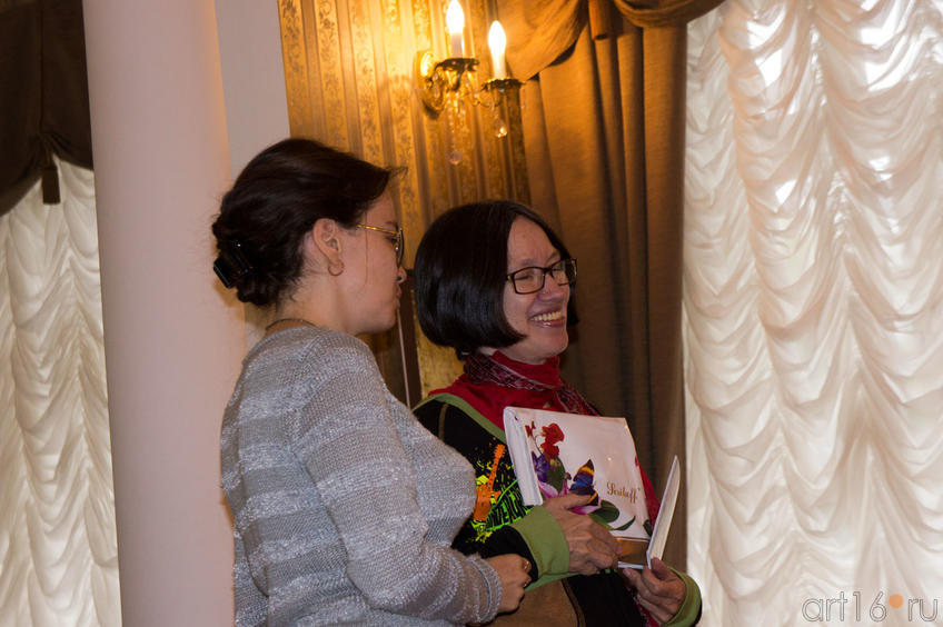 Фото №81963. Юлия Сандлер, Наиля Ахунова