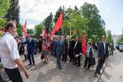 Открытие музея В.И.Ленина после реставрации