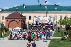 День славянской письменности. Концерт в Казанском кремле. 2015 г.