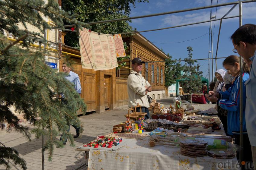Ярмарочные ряды на улице Гассара (Елабуга)