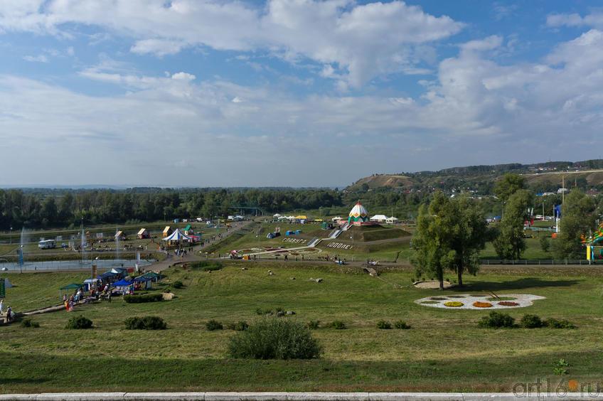 Шишкинские пруди и Чертово городище