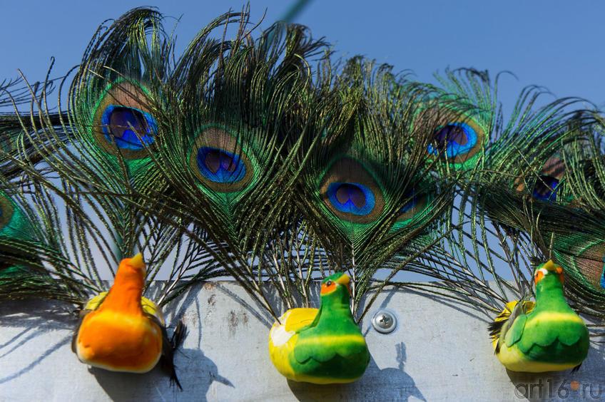 Жар-птицы Спасской ярмарки
