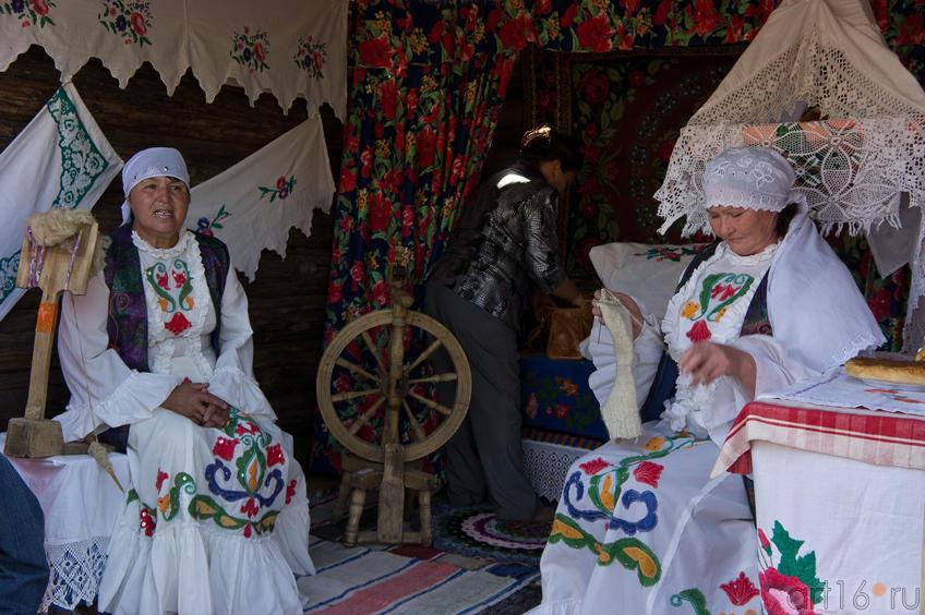 Татарская изба в городе Мастеров