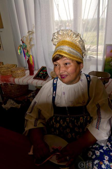 Мастер по вышивке и изготовлению кукол — Батрова Гульсум Махамиднаровна