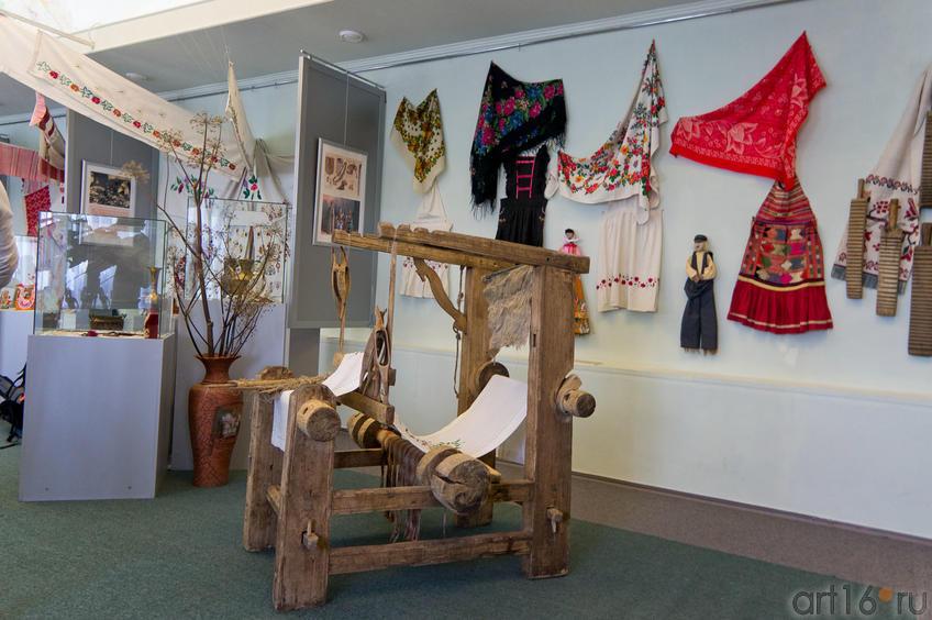Фрагмент экспозиции Музея декоративно-прикладного творчества