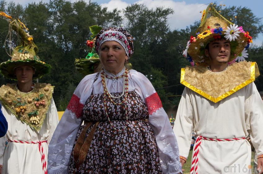 Театрализованное представление. Закрытие Спасской ярмарки, август 2011