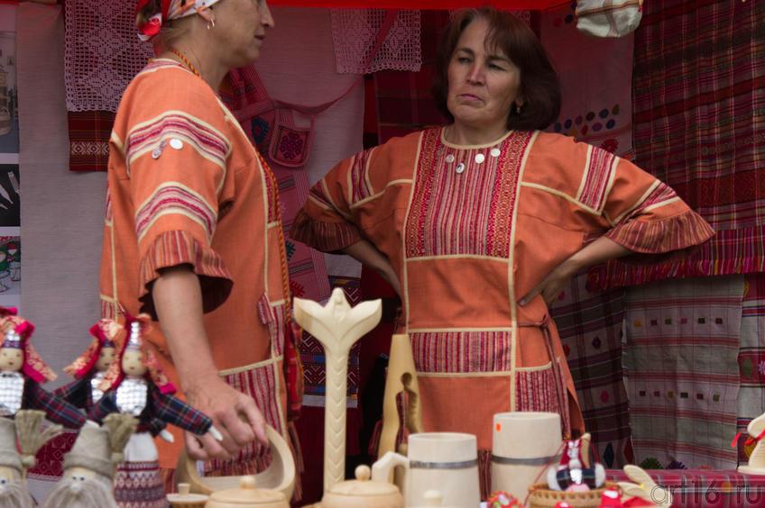 Торговые ряды Спасской ярмарки, август 2011