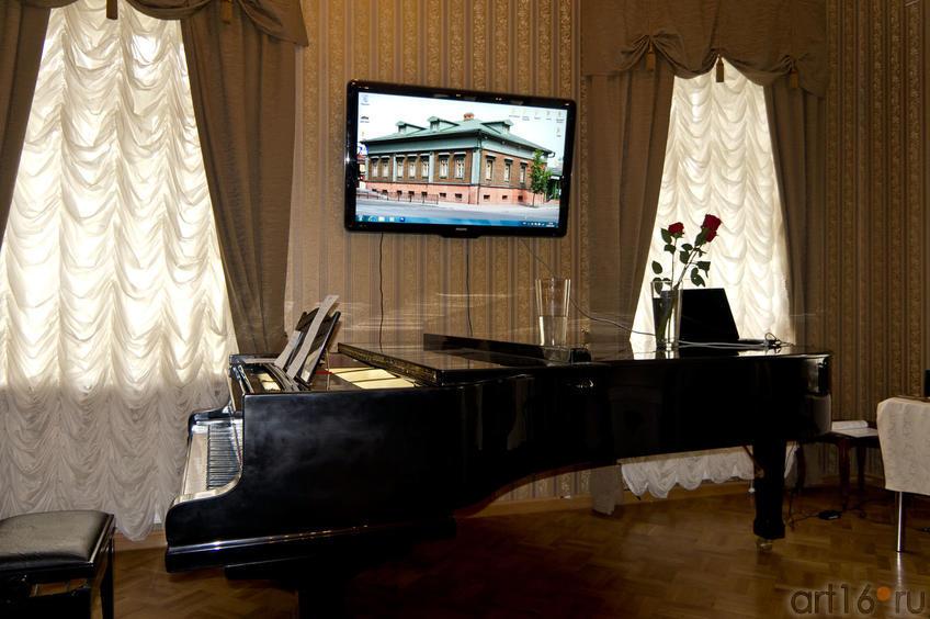 Фото №82777. В Доме-музее В.П.Аксенова. 2011.08.20