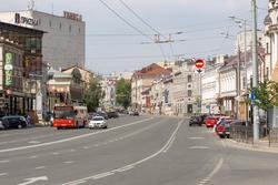 Улица Пушкина, июнь 2015, Казань